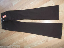 Beverly brown jeans pants size XS  stretch embelished pockets new