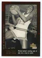 1999 UPPER DECK BASKETBALL THE EARLY YEARS #5 MICHAEL JORDAN VERY NICE