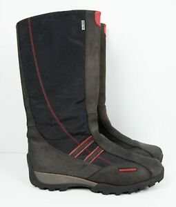 SuperFit Gortex Shoes Waterproof Boots Zip Up Black Red Kids Size 38 Zipper