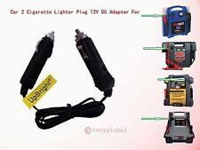 Car 2 Cigarette Adapter Fr Battery Jump Starter Air Compressor 600 700 1000 Peak