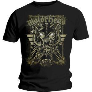 Motorhead Spiderwebbed Warpig Shirt S-XXL Official Heavy Metal Band T-Shirt Blk