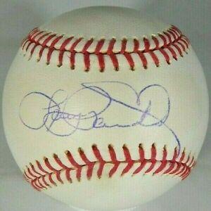 Larry Parrish   Rangers   Expos   Signed OML Baseball    Steiner  COA