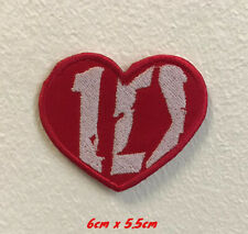 One Direction 1D art badge Iron on Sew on Embroidered Patch applique