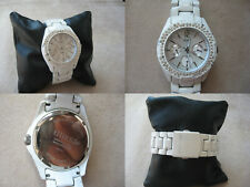"GUESS Quartz ""CALENDAR WHITE"" - (WATCH / OROLOGIO / RELOJ)"