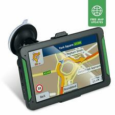 Car GPS SAT NAV Navigation System Android UK EU Maps Truck Lorry Coach 7'' 8GB