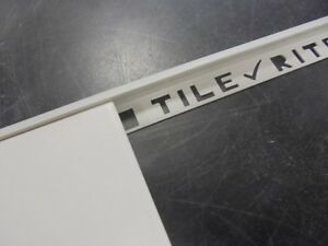 PVC TILE TRIMS 7mm ROUND EDGE GREY 2.44 METER LONG IN A PACK OF 5