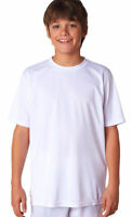A4 Boys Moisture Wicking Performance Odor Resistant Crewneck T-Shirt. NB3142
