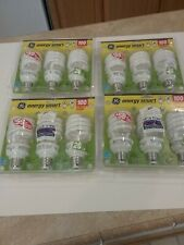 12 GE CFL Light Bulbs 100 Equivalent 4 Packages 3 Each Energy Smart 00262 Spiral