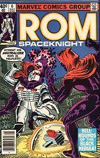 ROM THE SPACEKNIGHT #6 - BILL MANTLO SCRIPTS - MARVEL COMICS - 1980