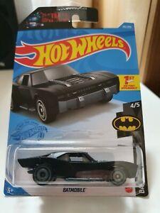 Hot Wheels 2021 Batmobile *181/250 HW Batman *4/5 GRX23 Black Long Card