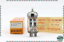 E83CC / ECC803S Siemens ≠ Vacuum Tube, Valve, Röhren, emission, mut. conductance