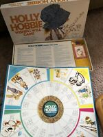 1976 Holly Hobbie Wishing Well Board Game Parker Brothers