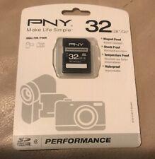 New PNY High Performance 32GB SDXC Class 10 UHS-I Up to 85MB/sec - P-SDXC64GU18
