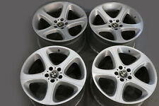 "*BMW X5 Series E53 Silver Complete Set 4x Wheel Alloy Rim 20"" Star Spoke 87"