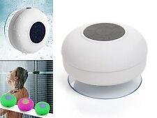 Altavoz para Ducha Speaker Resistente Agua con Reproductor MP3 y Bluetooth 4167