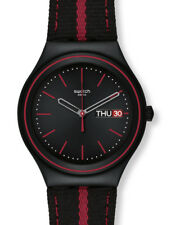 "SWATCH IRONY BIG ""THE PRINCE OF RED STRIPE"" (YGB7000) NEUWARE"