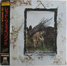 """LED ZEPPELIN - JAPAN CD VINYL REPLICA """"LED ZEPPELIN IV"""""""