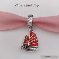 CHINESE JUNK SHIP 925 Sterling Silver Pandora Charm NEW Free Post 791908