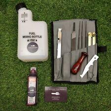 Chainsaw maintenance kit . Stihl Filing Kit . Chain Sharpening Saw Files Tools.