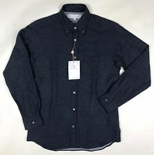 Private White V.C. - Navy Flannel Shirt - Size 4/M - *NEW W/ TAGS* RRP £175