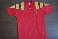 Spain 100% Original Soccer Jersey Shirt M 1992 Home USED Good Condition Rare