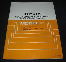 Repair Manual Toyota Model F YR 21 22 CR 21 August 1995 Stand 08/1985