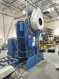 200 Ton Heim 20A-BG OBI Punch Press - Tooling Included