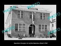 OLD POSTCARD SIZE PHOTO OF STATESBORO GEORGIA VIEW OF STATESBORO HARBOR c1940