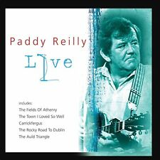 PADDY REILLY - LIVE CD (Inc Carrickfergus, The Town I Loved So Well Etc)