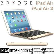 "Brydge Brydge9.7 Aluminium Keyboard Cover Case For iPad Air/Air 2/ Pro 9.7"" GOLD"