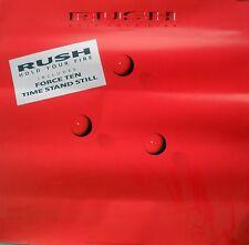 Rare Rush Hold Your Fire 1987 Vintage Original Record Album Promo Poster