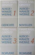 Bücherset - Franz Karl Ginzkey - Ausgewählte Werke
