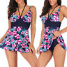 Plus Size Waist Hip Women Bikini Lady Push up Beach Bandage Tankini Swimsuit NEW