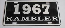 METAL LICENSE PLATE 1967 67 RAMBLER NASH AMC AMERICAN MOTORS 660 440