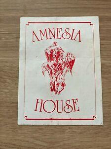 Amnesia House - Shelley's - Xmas 1991 Rave Flyer / Acid House - Altern 8