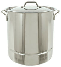 Bayou Classic 1316 16 Gallon Tri Ply Bottom Stockpot With Lid 64 Quart
