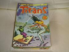 TITANS n° 41 -1982- GUERRE DES ETOILE MACHINE MAN FATALIS MIKROS très bon état