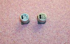 QTY (20) 470uf 35V 105' SMD ELECTROLYTIC CAPACITORS NACK471M35V12.5X14 NIC ROHS