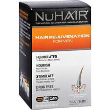 Natrol NuHair Hair Rejuvenation for Men 60 Tablets Egg & Fish Free, 60 Tabs