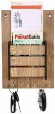 Decorative Letter Box Artworks Wooden Finish Rack Mail Key Holder Wall Organizer