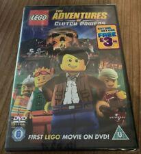 Lego The Adventures Of Clutch Powers DVD (2011) Region 2 UK