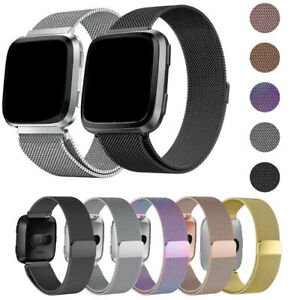 For Fitbit Versa/Versa 2/Lite Watch Band Replacement Stainless Wrist Bracelet US