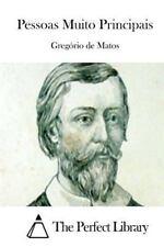 Pessoas Muito Principais by Gregório de Matos (2015, Paperback)