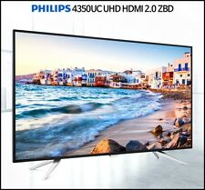 "Philips 4350UC UHD HDMI 2.0 ZBD Real 4K 3840 x 2160 60Hz 43"" Wide Angle Monitor"