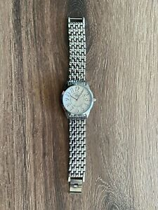 Premier Designs Small Silver Toned Wristwatch (Needs new Battery)- Ships fast!