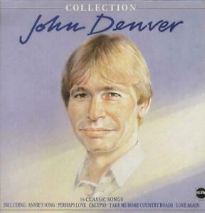 John Denver Colllection Vinyl UK STAR2253 TELSTAR 1984  Used