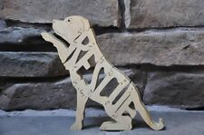 Rescue Shelter  Dog Wooden Amish Made Toy Scroll Saw Puzzle