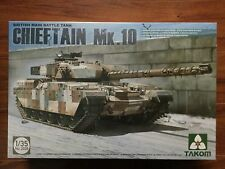 Takom 1/35th Scale Chieftain Mk. 10 British Main Battle Tank Model Kit 2028 F/S