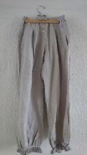 Pantalon lin beige Sunday Saint Tropez les ours T.M