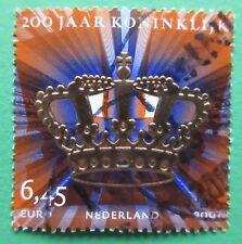 Nederland NVPH 2519  200 jaar Koninklijk 2007 gestempeld